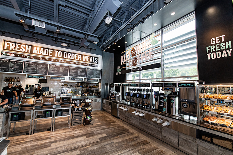 Alltown's c-store spinoff has a focus on healthy and fresh