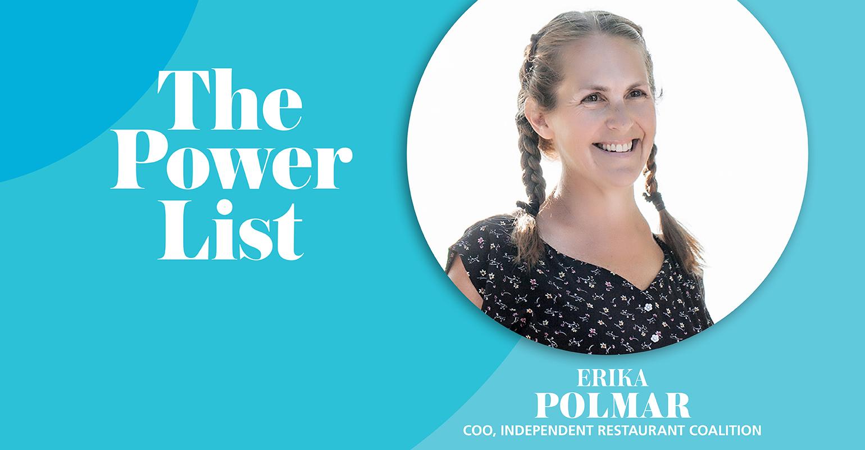 Erika Polmar COO Independent Restaurant Coalition.