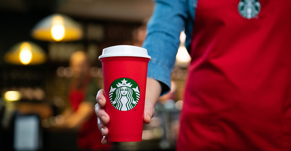 a8ec141bcc7 Starbucks debuts 2018 holiday cup designs, reusable holiday cup   Nation's  Restaurant News