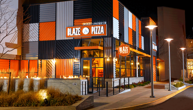 pe group brentwood makes investment in blaze pizza