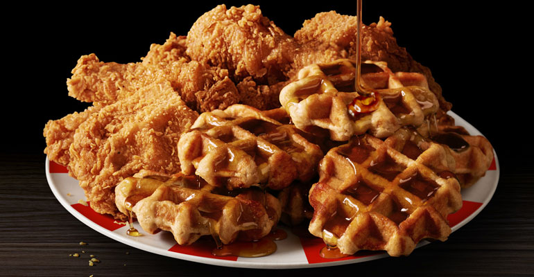 Kfc Wants To Raise The Bar With Chicken And Waffles Meal Nations