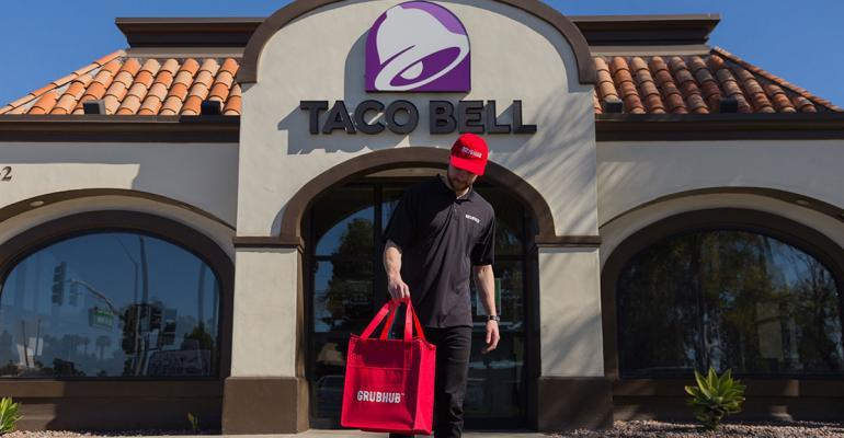 Taco Bell launches nationwide delivery with Grubhub