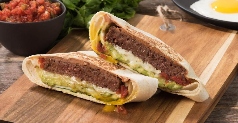 Huevos Rancheros Taco Burger-017