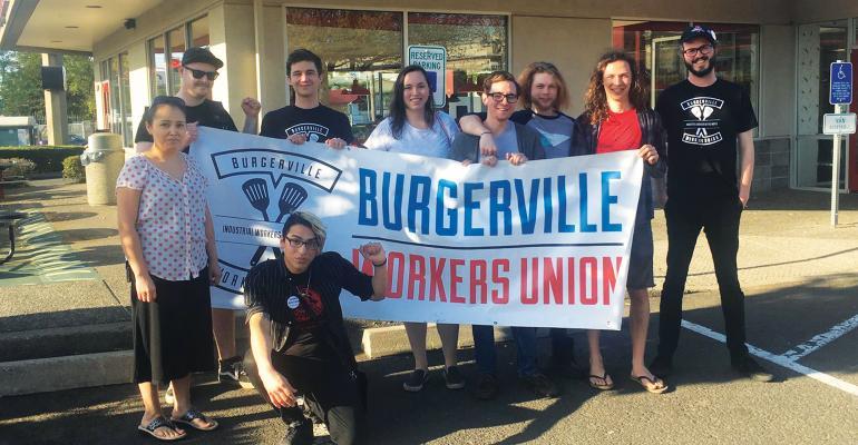 Burgerville supports union vote at second unit