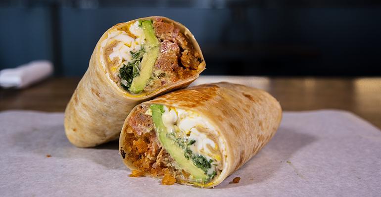 A Beyond Breakfast Burrito