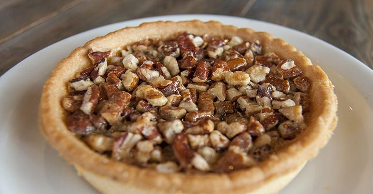 Bourbon Pecan Pie at Sweet Auburn's Barbecue in Atlanta.