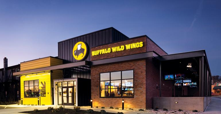 Buffalo Wild Wings Inc reported an 116percent drop in net income during the third quarter ended Sept 27 which the company attributed to higher costs and a franchisee acquisition