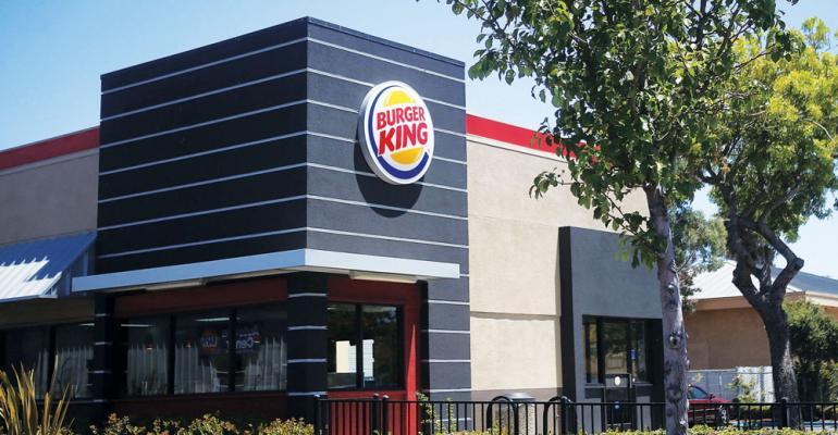 Burger King storefront