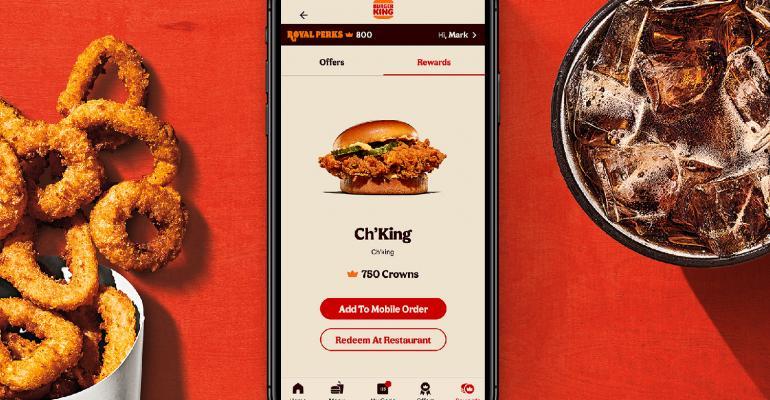 Burger King's new loyalty rewards program