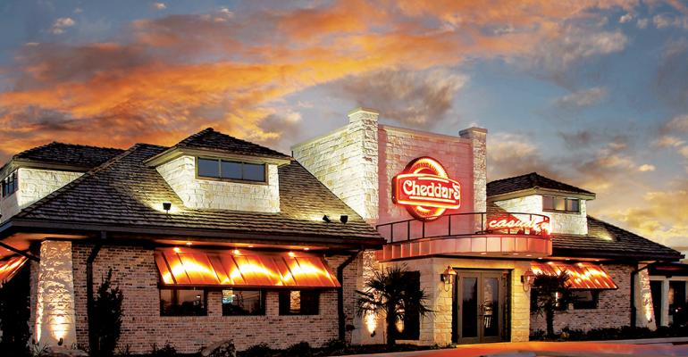 Darden Restaurants bought Cheddar's Scratch Kitchen in a bid for more growth
