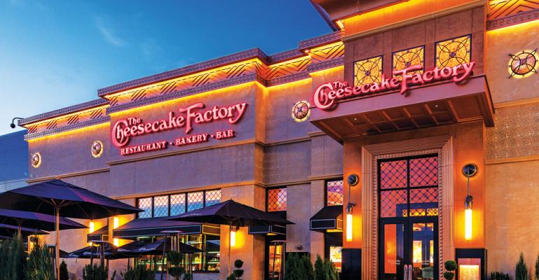 Cheesecake Factory storefront
