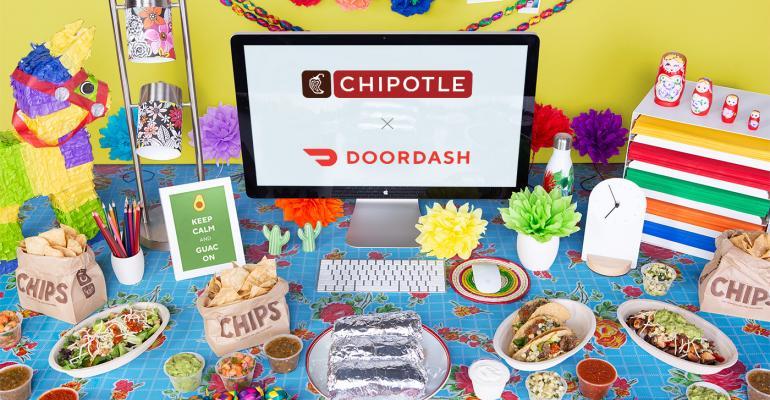 Chipotle Mexican Grill DoorDash delivery