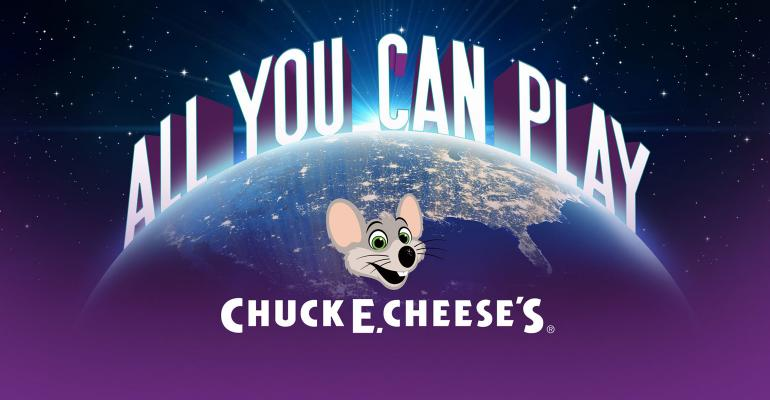"""Chuck E. Cheese's launches """"All You Can Play"""" gaming model"""