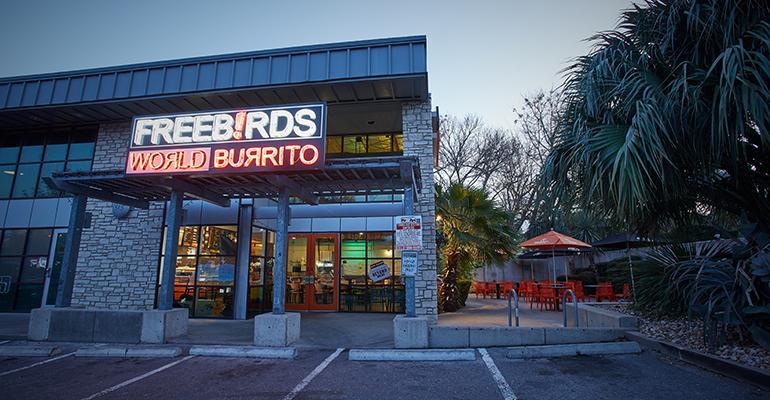 Freebirds World Burrito storefront