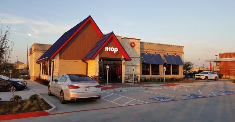 IHOP exterior storefront