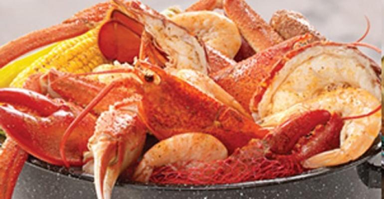 Joes Crab Shack steam pot