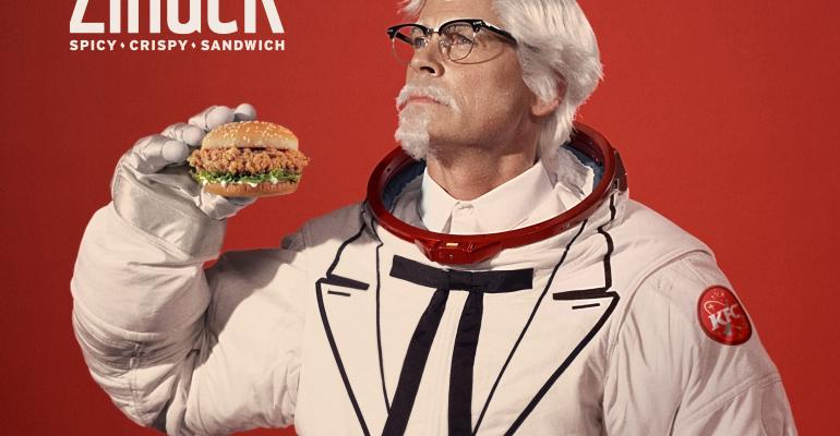 KFC has enlisted Rob Lowe to be its new Colonel Sanders