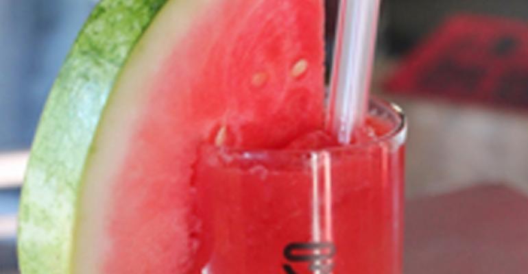 Kiwi Watermelon cocktail