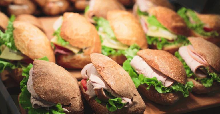 sandwich data