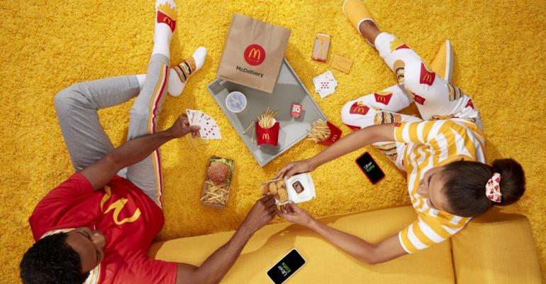 McDonald's free swag with UberEats delivery