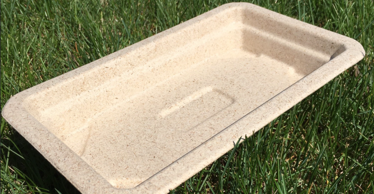 Compostable to-go container