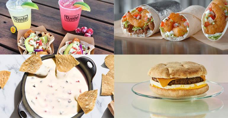 New items from Del Taco, Starbucks, Papa John's Pizza and Chipotle Mexican Grill .jpg