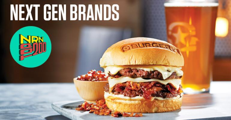 Ten growing restaurant chains that could crack the Top 200