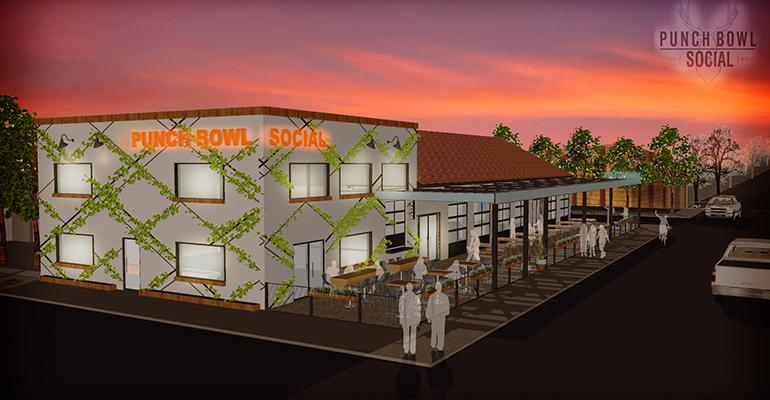 Punch Bowl Social to debut new compact location