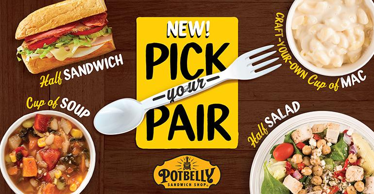 Potbelly rolls out new menu