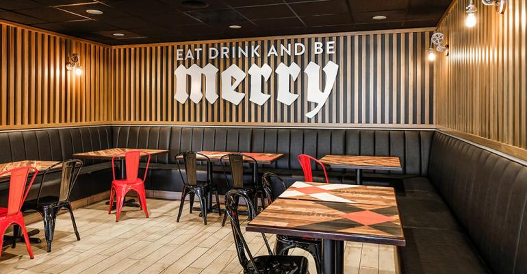 Round Table Pizza Unveils Redesign Nation S Restaurant News