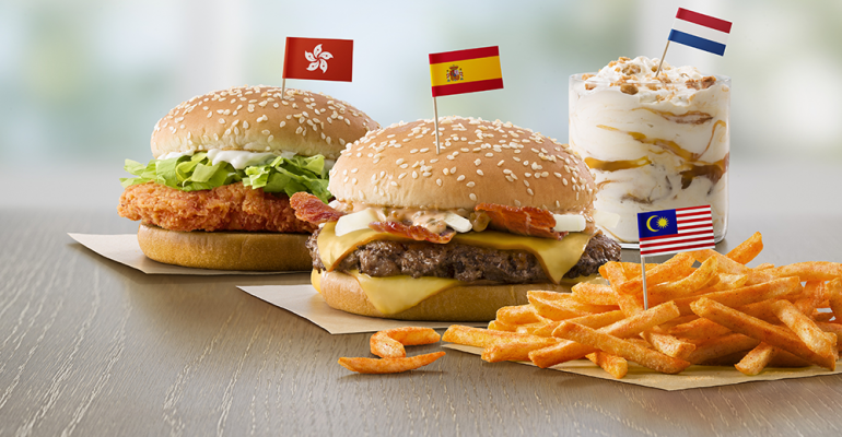 Mcdonalds Latest Menu Tests Global Foods And Chicken Tenders