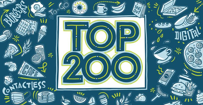 2020 Nation's Restaurant News Top 200 logo
