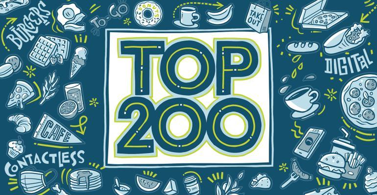 Nation's Restaurant News 2020 Top 200 logo