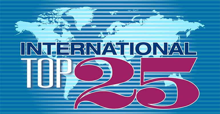 The 2015 International Top 25 features a broad range of concepts mdash serving burgers noodles schnitzel curries and more mdashnbspthat together represent 122282 restaurants recording a total of 599 billion in 2014 worldwide foodservice salesGetnbspthe full International Top 25nbspreport gtgt