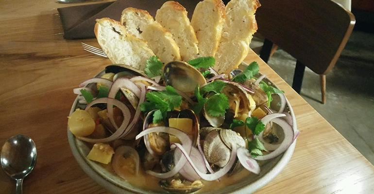 Curried Clams