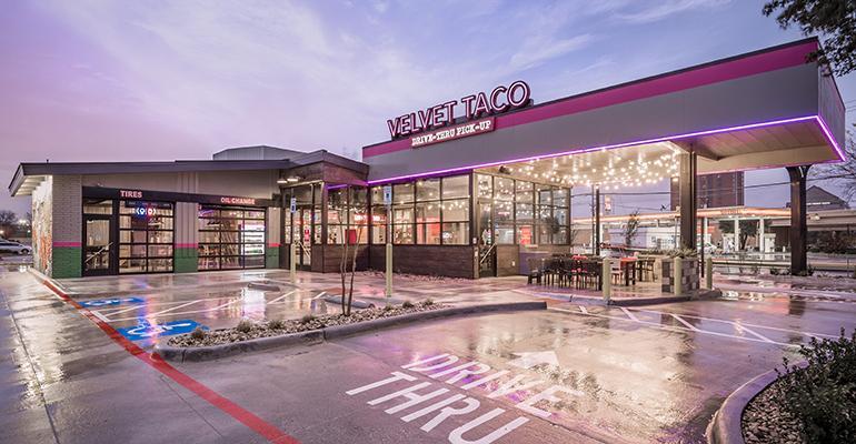 Velvet Taco storefront