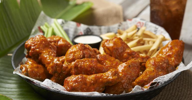 Hurricane Wings available through Fatburger virtual ghost kitchen