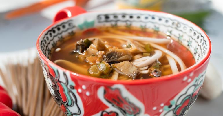 The Dragon Fire Noodle Bowl
