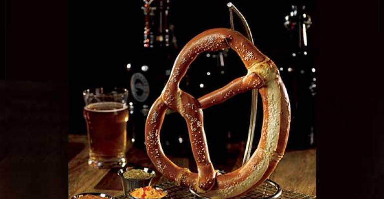 A Delicious Piece of Art: Brauhaus Soft Pretzels