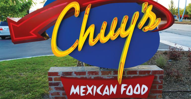 Chuy's tests catering, online ordering
