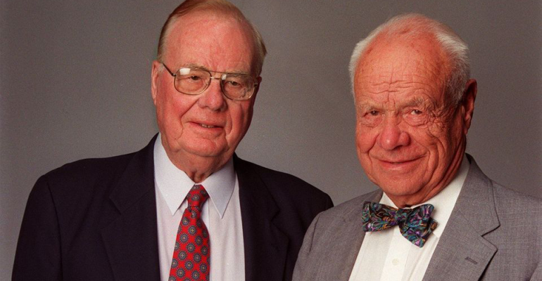 Friendly's co-founders Curtis and Prestley Blake