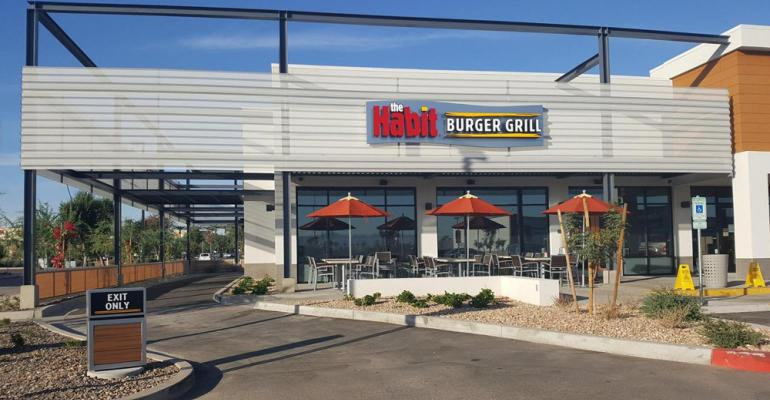 Delivery, higher menu prices drive sales at The Habit