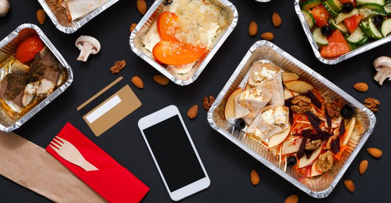 Delivery represents 3% of all restaurant orders