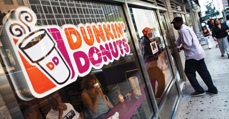 Dunkin' Brands names David Hoffman CEO