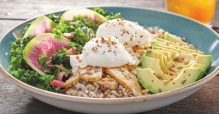 Breakfast growth spurs menu innovation