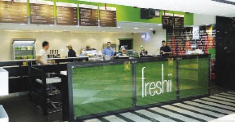 Freshii storefront