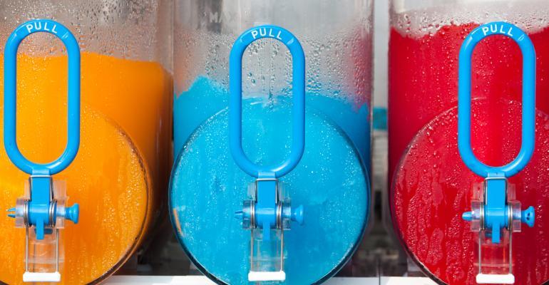 Frozen blended beverages heat up