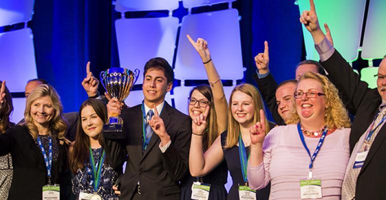 NRAEF ProStart competition