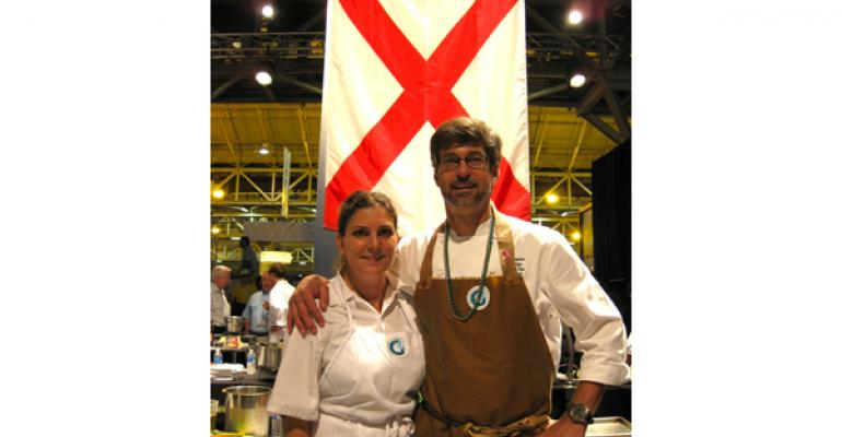 Behind the scenes at the Great American Seafood Cook-Off
