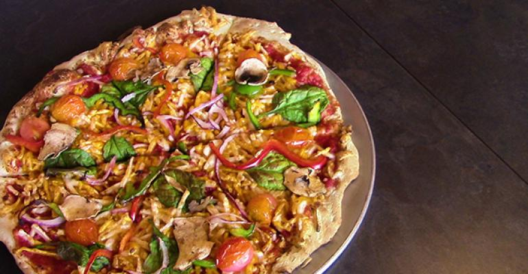 Pie Five vegan pizza